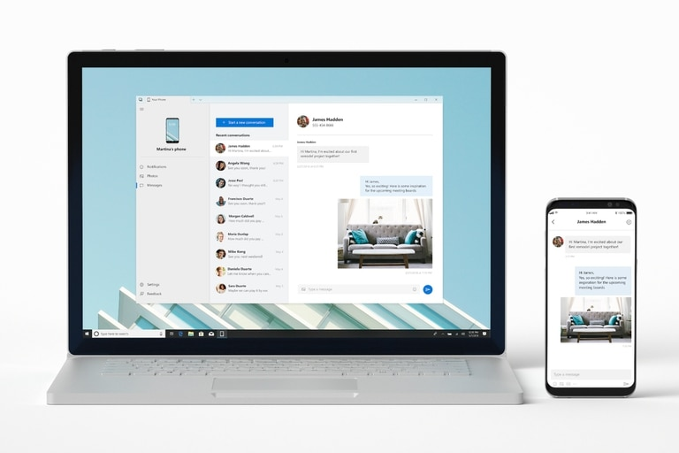 Your Phone será la herramienta encargada de mostrar las notificaciones del teléfono en la pantalla grande; hasta ahora requería una aplicación de terceros; ahora será parte del sistema operativo