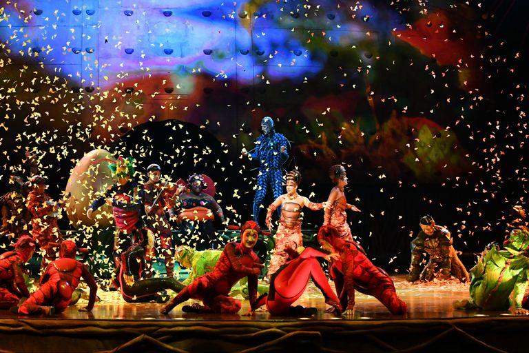 Una escena de Ovo, el nuevo espectáculo del Cirque du Soleil