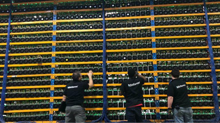 Bitfarms posee 40.000 metros cuadrados de espacio destinado a servidores