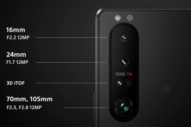Las cámaras traseras de los nuevo Sony Xperia 1 III y Xperia 5 III