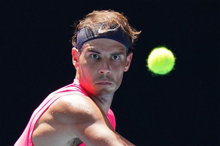 """""""Mala suerte"""". Nadal habló sobre el pelotazo que pegó Djokovic en el US Open"""