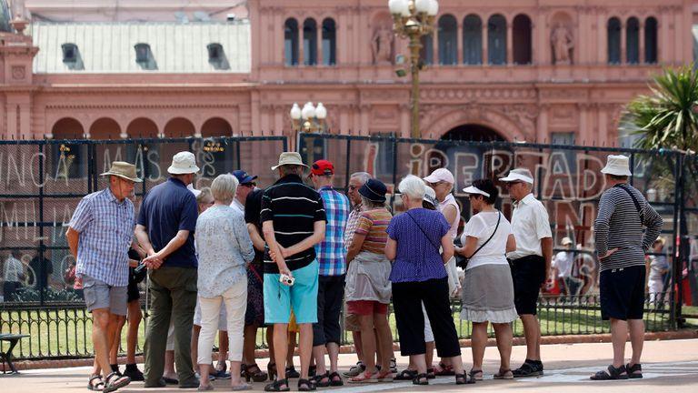 La Casa Rosada, junto a la Plaza de Mayo, uno de los rincones porteños que más visitan los turistas