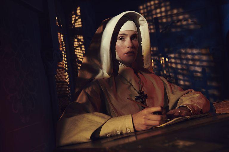 Gemma Arterton, la hermana Clodagh de Black Narcisus