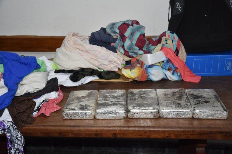 Fue decomisado un envío de 5,5 kilos de cocaína. La droga era transportada desde Tartagal a Mendoza