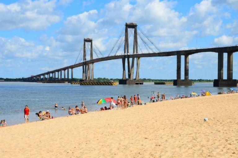 La playa del Paraná en la que se emplazará el shopping