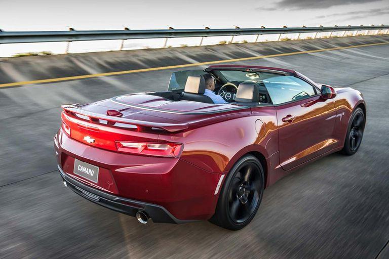 El Camaro descapotable se fabrica en Michigan, cuna de General Motors