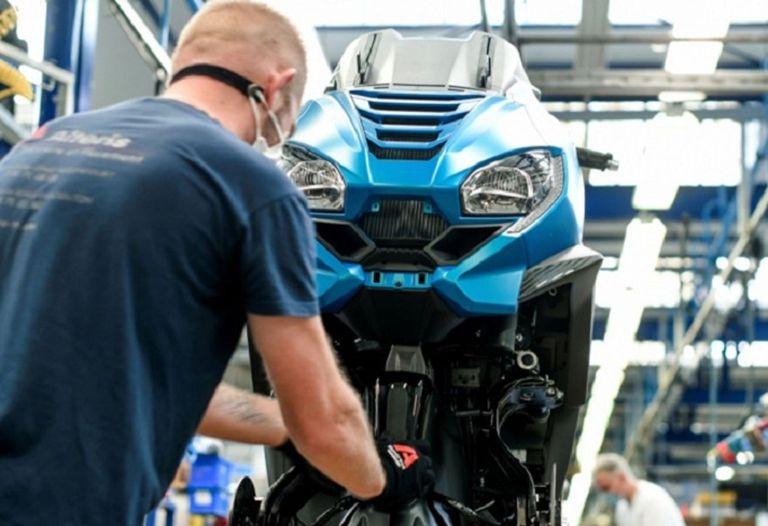 10-06-2021 Fábrica de motocicletas..  La Asociación de Fabricantes Europeos de Motocicletas (ACEM) y la Asociación de Fabricantes de Motocicletas en Estados Unidos (Usmma) han pedido a las autoridades europeos y estadounidenses que acuerden, en la cumbre entre ambas regiones que se celebrará el próximo 15 de junio, la eliminación de los aranceles de represalia puestos en marcha por las diputas del aluminio y el acero.  POLITICA ECONOMIA ACEM