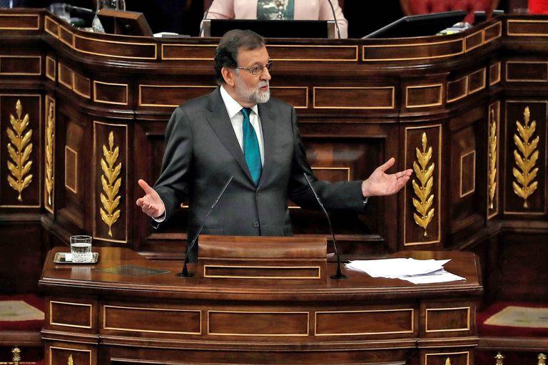 El discurso de Rajoy en el Congreso