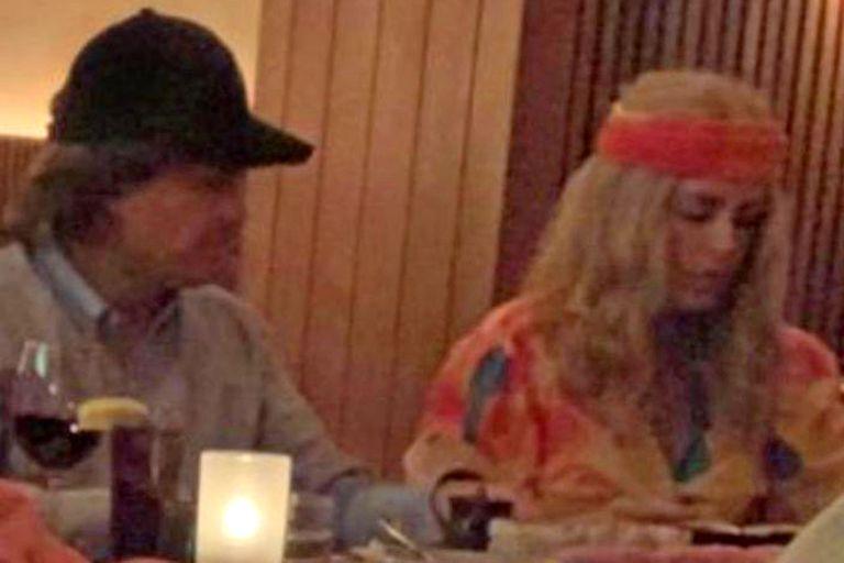 Descubren a Enrique Peña Nieto y su novia modelo disfrazados en Nueva York