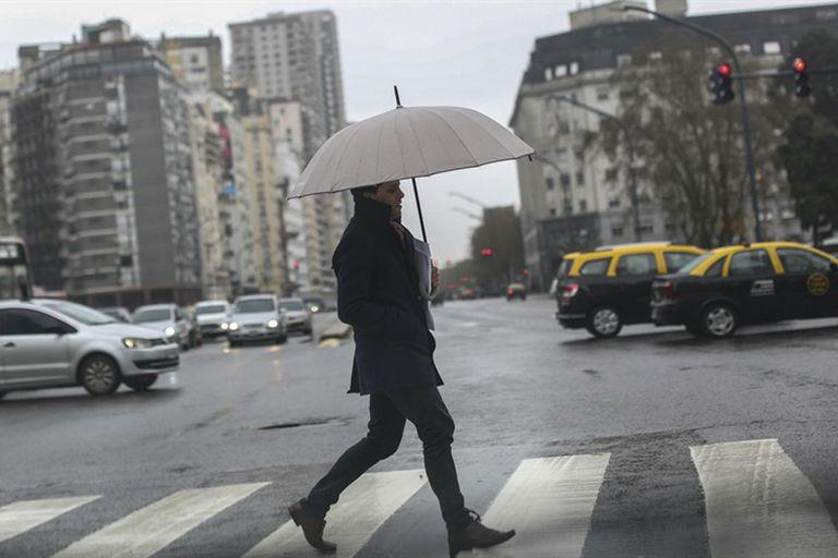 La lluvia será la protagonista del fin de semana largo