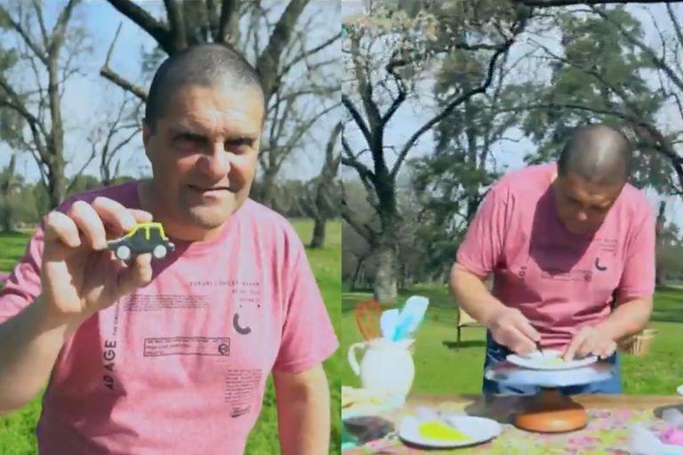 Gabriel Amato, el taxista de 52 años que conmovió a todos con su historia en Bake Off Argentina