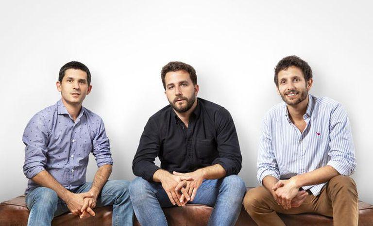 Gabriel Marin, Santi Bibiloni y José Gettas, confundadores de COR lograron levantar US$6 millones.