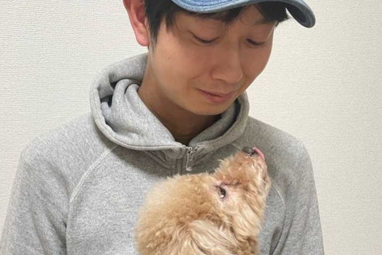 Morimoto está casado y tiene hijos y, de momento, su negocio le da para vivir