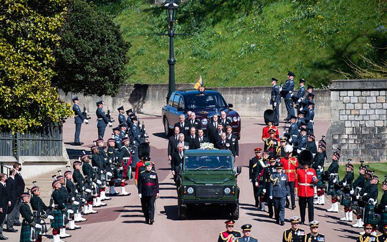 Los nombres clave que usa el servicio secreto para los funerales de la Familia Real