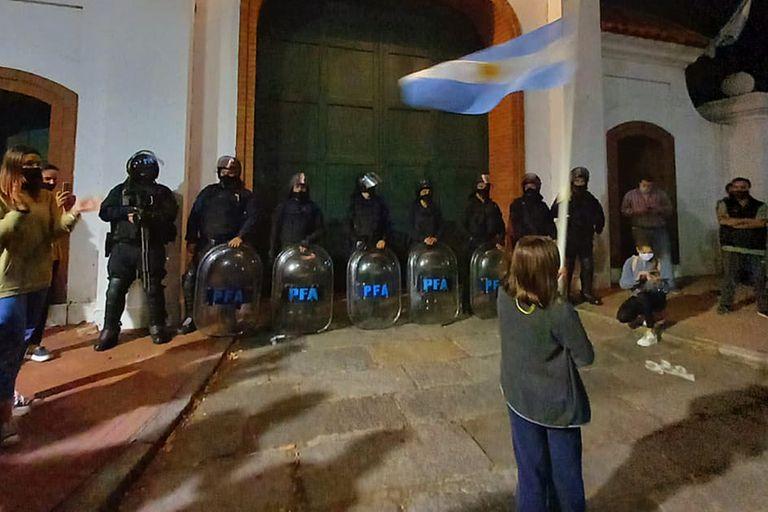 La nena de 10 años que se volvió viral en la Quinta de Olivos