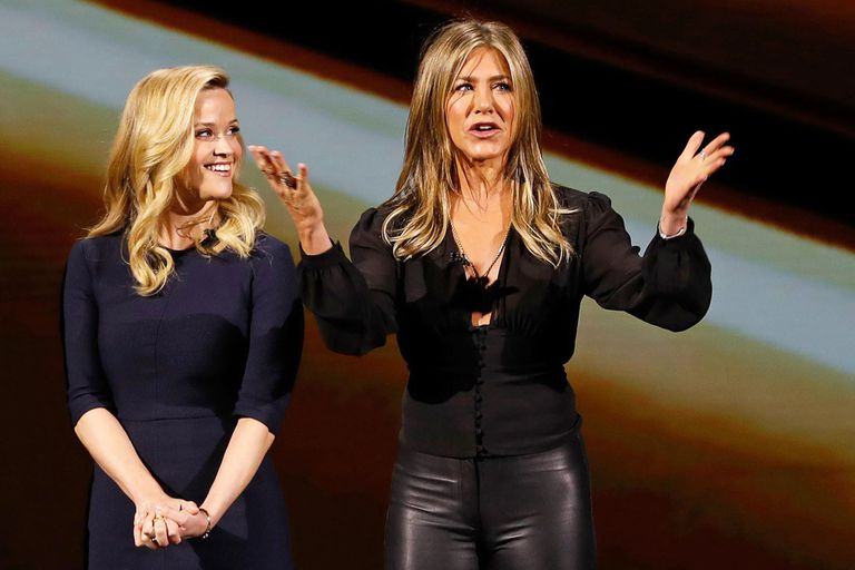 Reese Witherspoon y Jennifer Aniston harán una serie