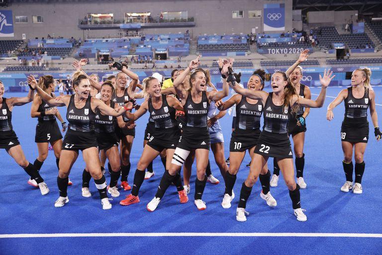 Las Leonas hacen historia: vencieron 2-1 a India e irán por la medalla de oro ante Países Bajos
