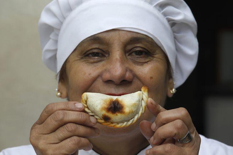 Es campeona de campeonas en hacer empanadas y confiesa (parte) del secreto de su éxito