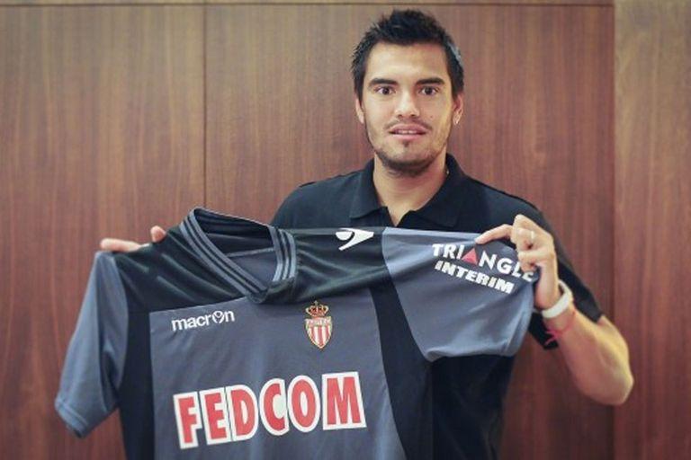 Romero con su nueva camiseta