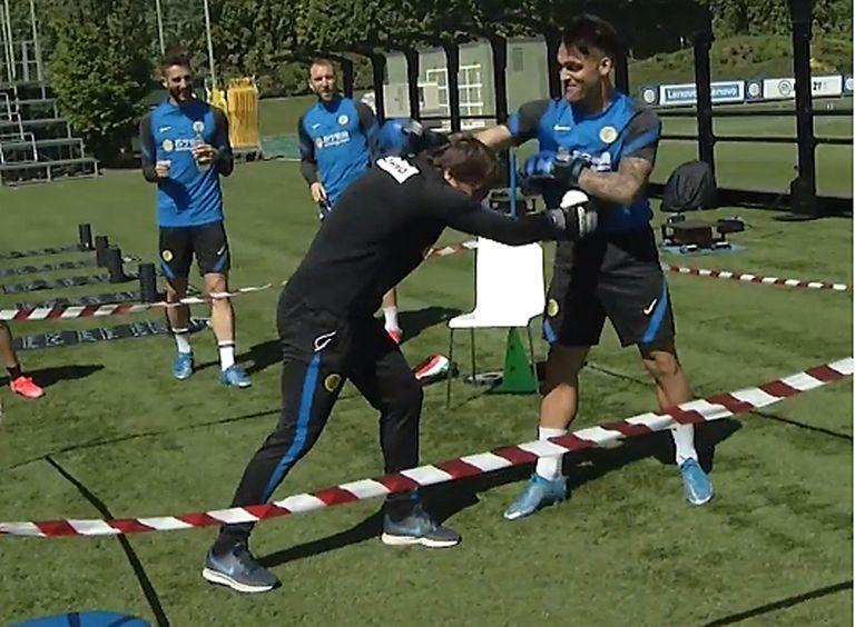 Inter: Lautaro Martínez y Antonio Conte boxearon para resolver sus diferencias