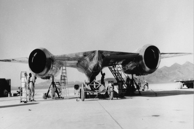 Fue el primer avión furtivo de la CIA. Fuente: Facebook Thornton D. Barnes