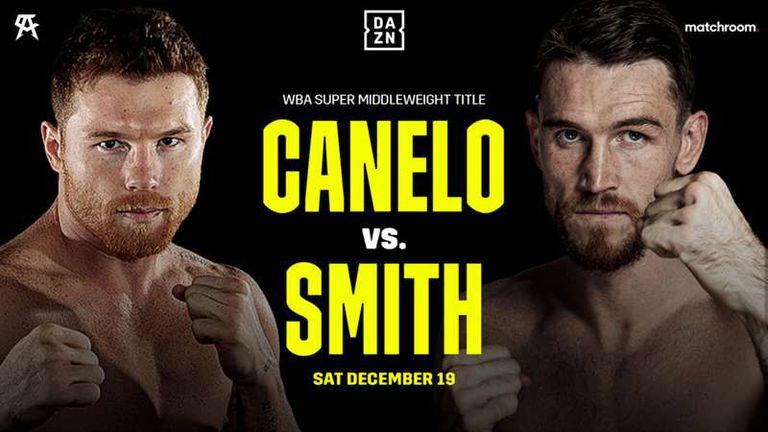 Canelo vs. Smith, una de las peleas que podrá ver el público argentino pagando unos dólares.