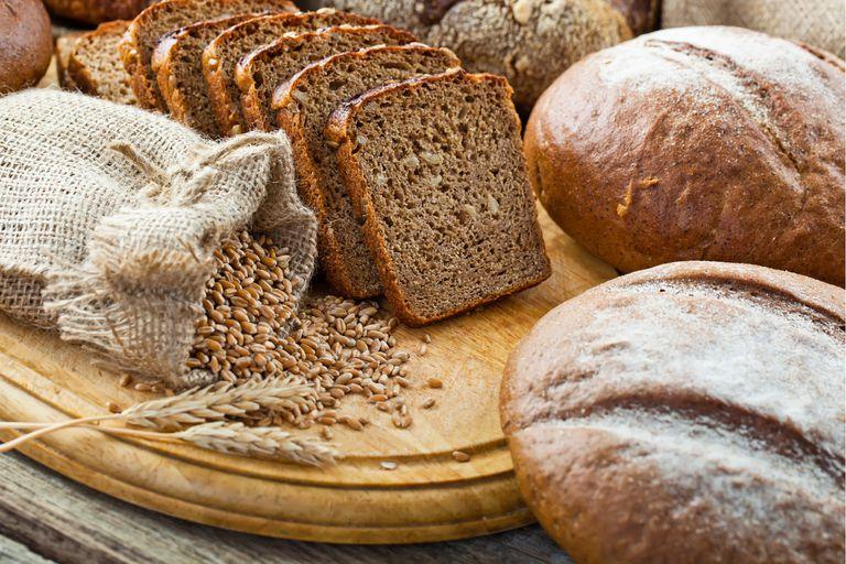 Pan integral de tres cereales