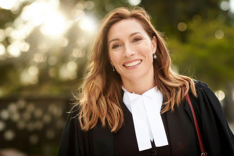 """Claudia Karvan: """"Los abogados, en la pantalla, no dejan de ser actores"""""""