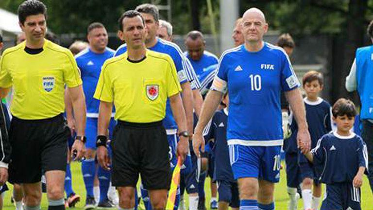 Infantino quiere ampliar la cantidad de equipos en el Mundial