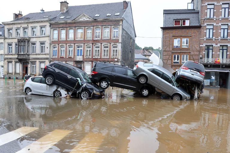 Cuánto costarán los daños del devastador temporal en Alemania y Bélgica