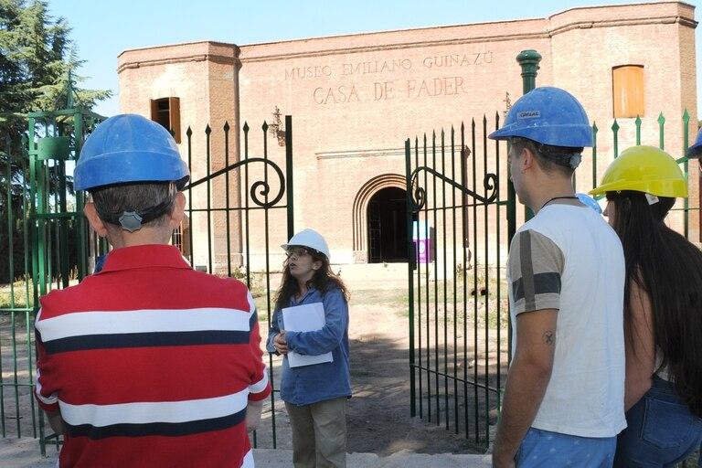 Siguen las obras en el museo provincial Casa de Fader, que prometen que reabrirá a fin de año