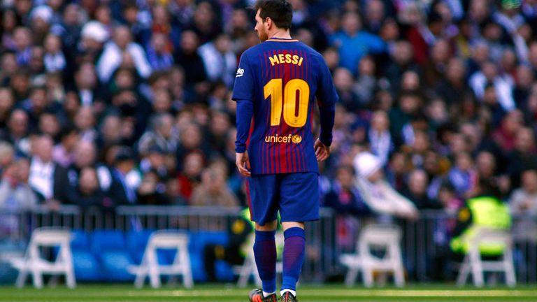 Messi, otra vez mágico en el Bernabeu