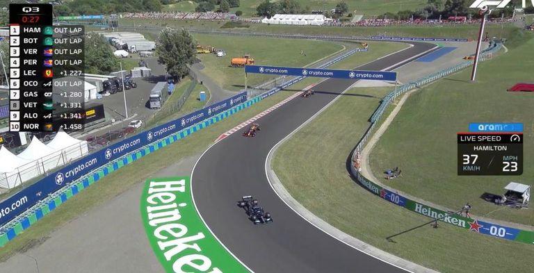 """Hamilton, entre otra controversia por una acción en boxes, la """"tregua"""" con Verstappen y los abucheos"""