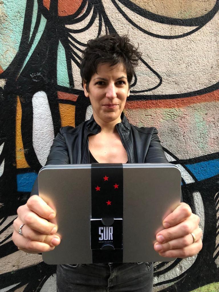 María Romero. Pastelera, chocolatier y cofundadora de Sur Chocolates