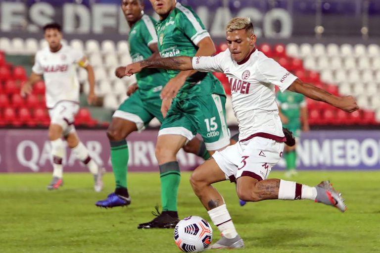 Lanús. Venció a La Equidad 1-0 y quiere darle pelea a Gremio en la Sudamericana