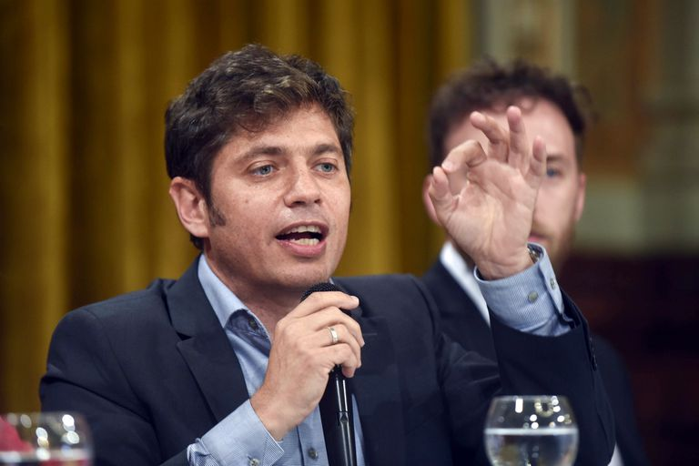 """""""La deuda es impagable"""", dijo Axel Kicillof; la provincia utilizará fondos propios para pagar el BP21, pero iniciará el proceso de renegociación de la deuda en moneda extranjera"""