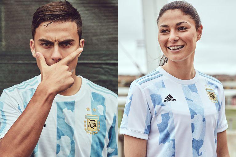 La llamativa nueva camiseta de la Selección: las bromas que generó en las redes