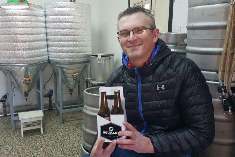 Un fanático de la navegación inventó una cerveza para deportistas
