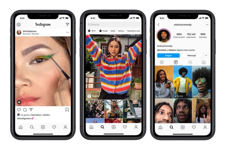Las producciones creadas con Reels de Instagram se podrán publicar en el newsfeed, y estarán disponibles en la sección Explorar y en el perfil del usuario