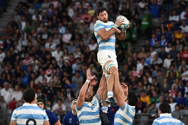 Ortega Desio asegura la pelota para el equipo argentino