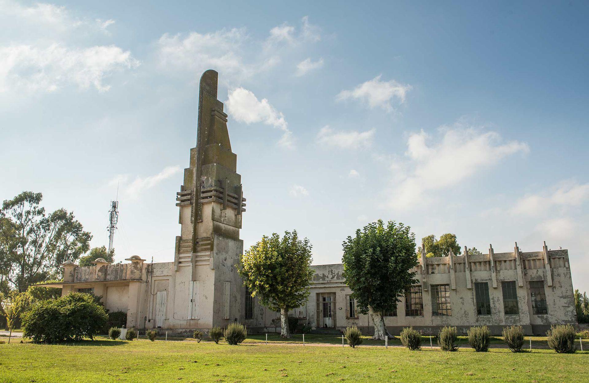 El matadero, una de las obras de Salamone en Coronel Pringles, provincia de Buenos Aires