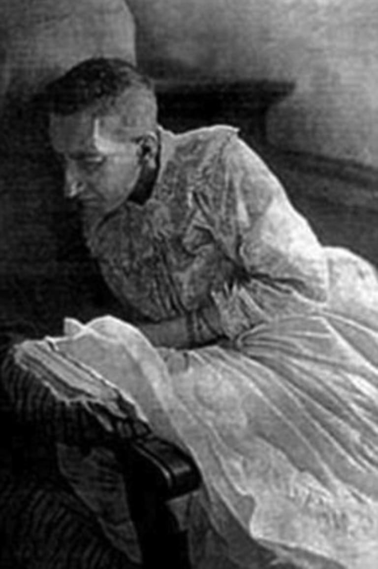 Blanche pasó el resto de su vida en un hospital psiquiátrico