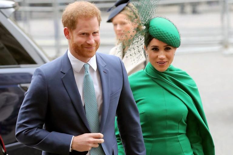 La foto del príncipe Harry y Meghan Markle que despertó polémica