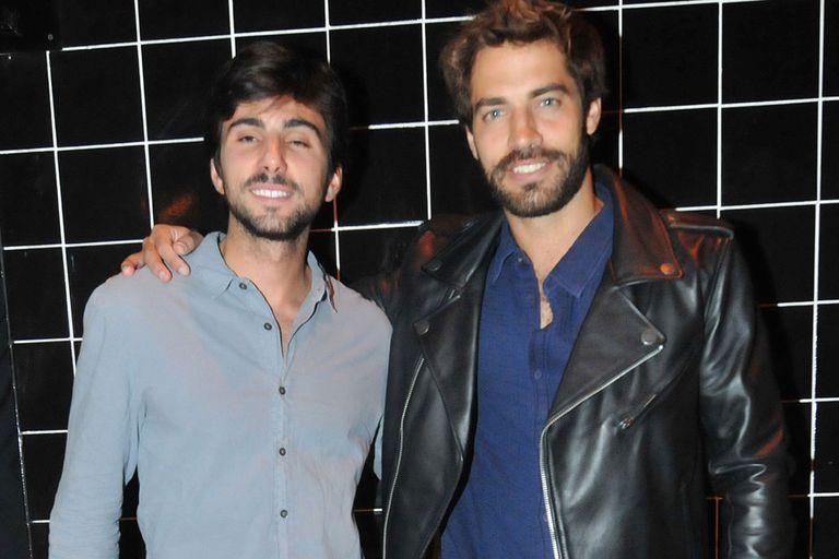 Benjamín Alfonso con Sebastián Hochbaum