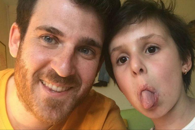 César Cavallé y su hija Telma completamente recuperada - El País