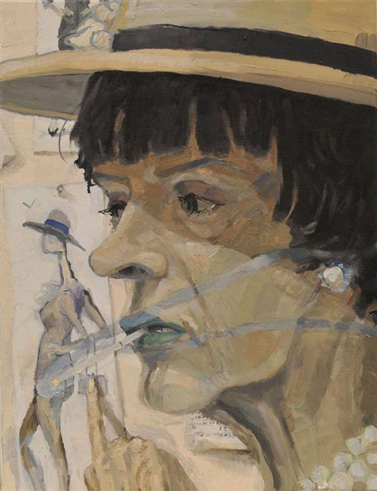 La inconfundible imagen de Coco Chanel que integra una galería de personajes reales y de ficción