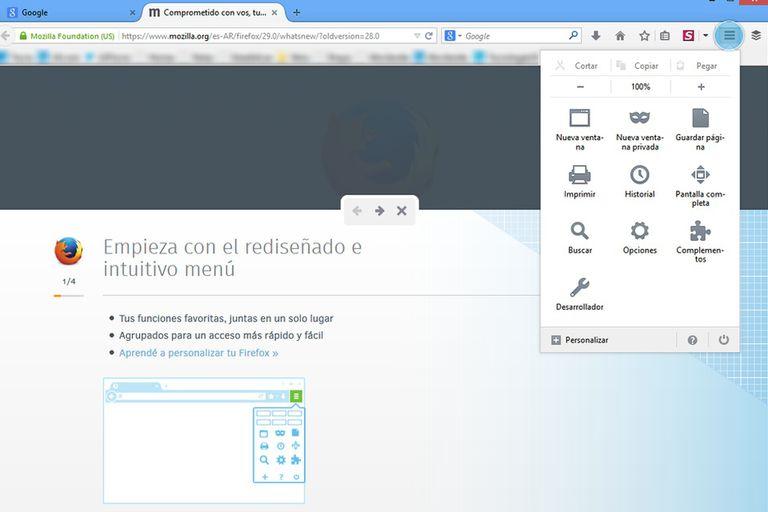 Firefox 29 ya está disponible para descarga