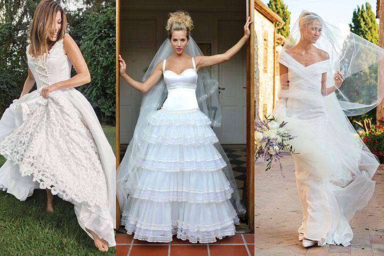 Todas las novias argentinas que acompañamos hasta el altar