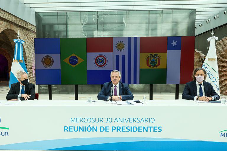 Alberto Fernández; Mercosur