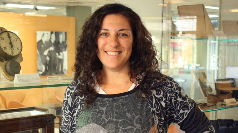 Lucía Chemes, de la Unsam